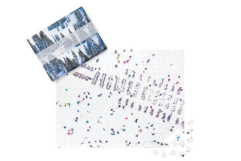 GrayMalin Double-Sided Snowscapes Puzzle
