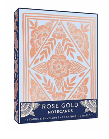 Rose Gold Boxed Card Set
