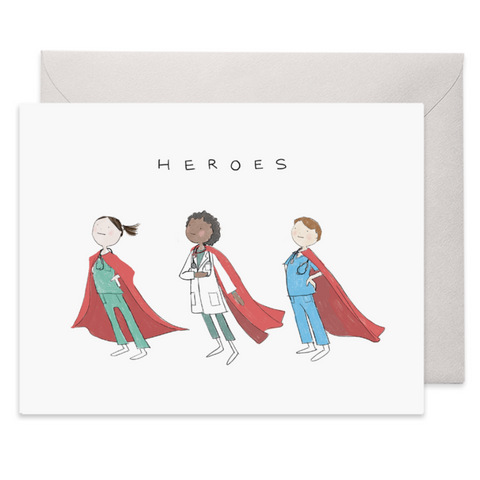 Healthcare Heroes Thank You Card