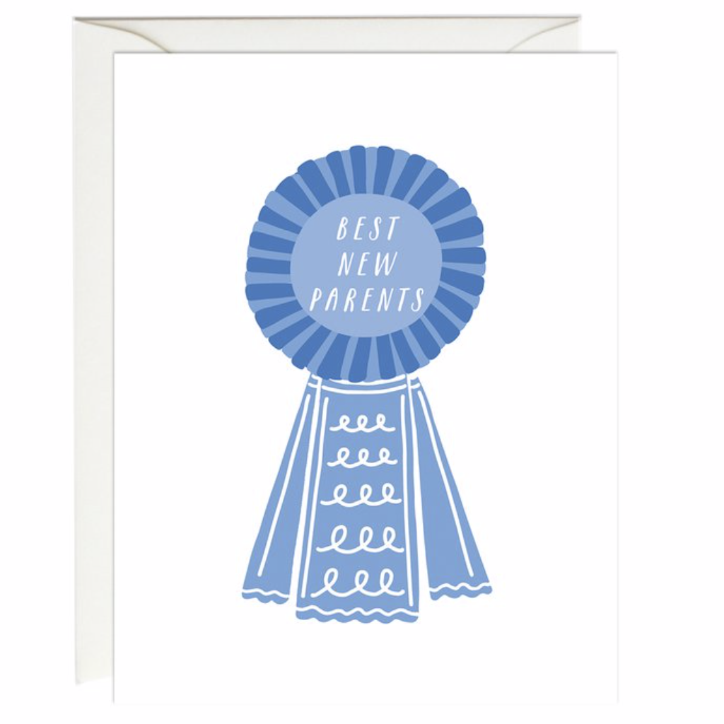 """Best New Parents"" Baby Card"