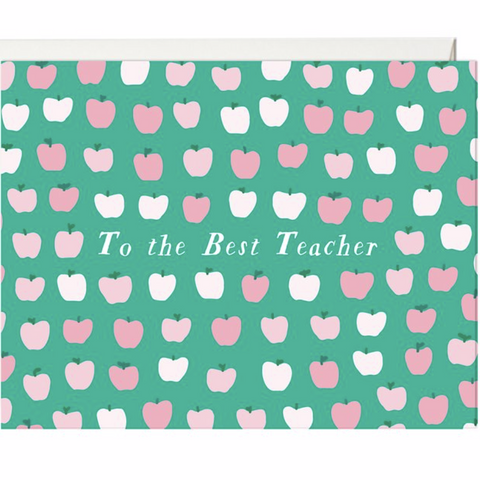 """To the Best Teacher"" Teacher Thank You Card"