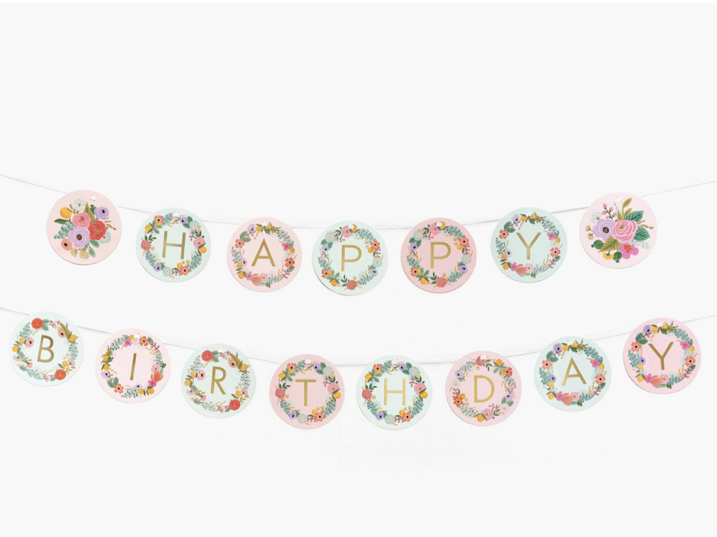 Rifle Paper Co. Letter Garland