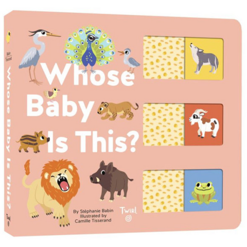 Whose Baby Is This? Board Book