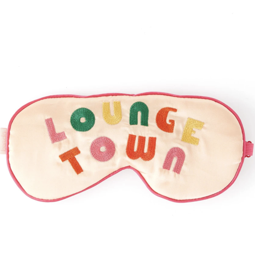 Ban.do Lounge Town Sleep Mask