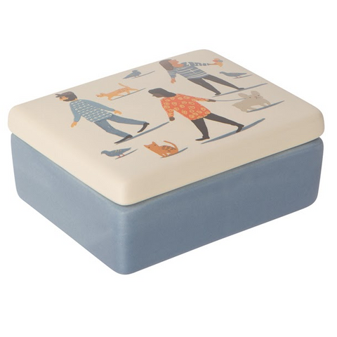 Ceramic Jewelry Box