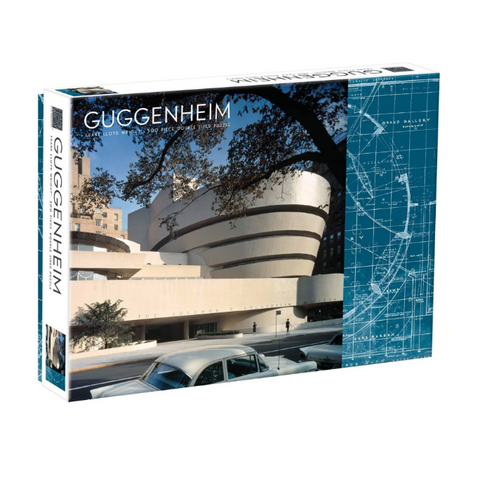 Frank Lloyd Wright Guggenheim Double Sided Puzzle