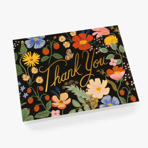 Strawberry Fields Rifle Paper Co. Boxed Thank You Cards
