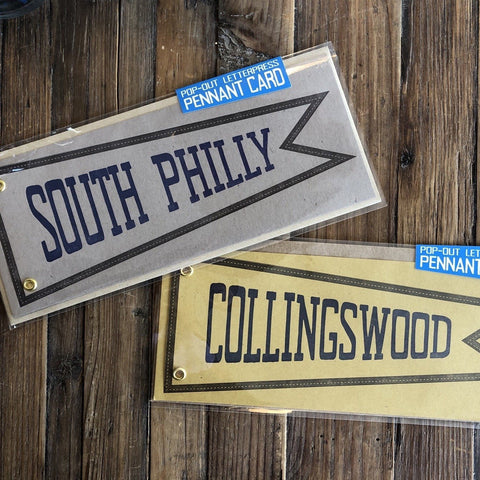 Collingswood Pennant Everyday Card