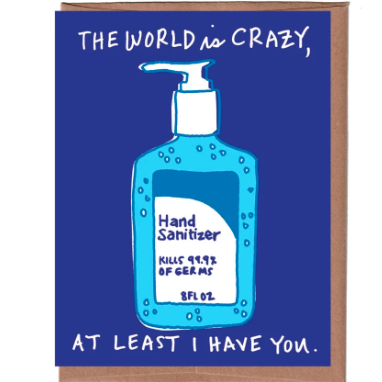 Hand Sanitizer Everyday Card