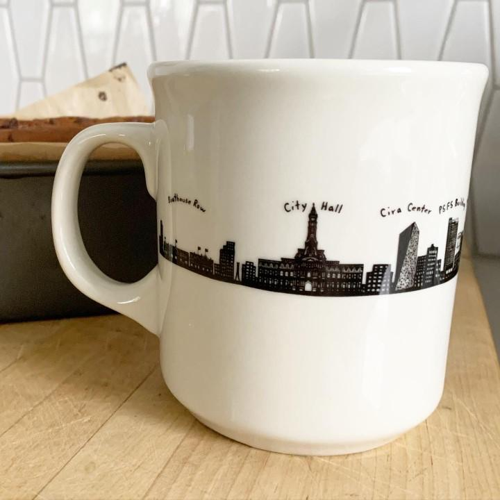 Fishs Eddy Philly Mug
