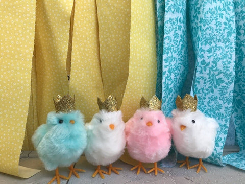 Lil' Chicks with Crowns