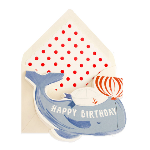 Have a Whale of a Birthday Card