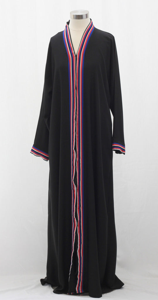 Nautical Stripe Abaya