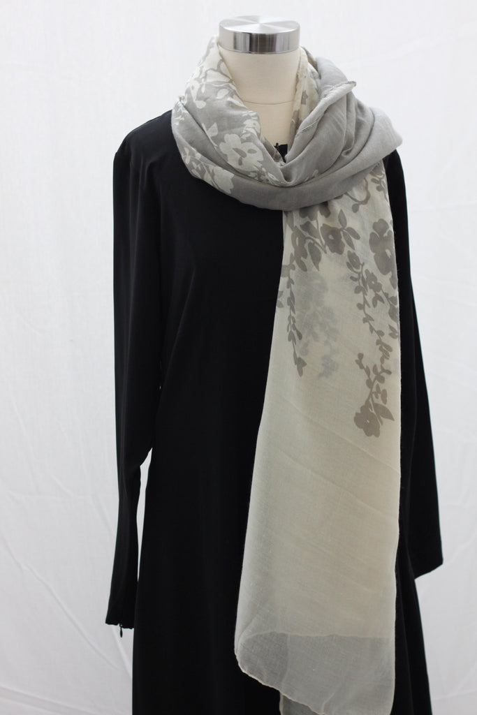 Grey Reflections Wrap Hijaab