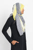 Black and White Geo Wrap Hijab