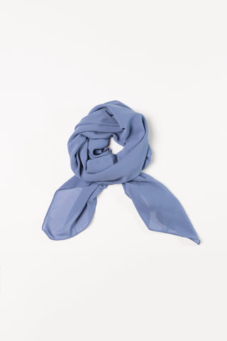 Cornflower Blue Square Hijab