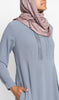 Dusty Mauve Jersey Wrap HijaaB