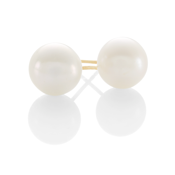 9ct 8mm Cultured Freshwater Pearl Earrings