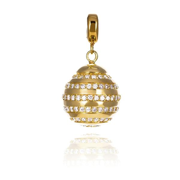 KAGI Gold Honey Bud Medium Pendant