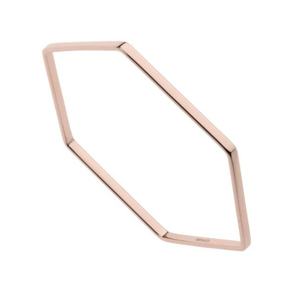 Najo The Hex Bangle (Rose) (63mm)