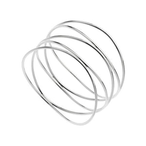 Najo Undulation Bangle (64mm)