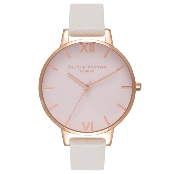 Olivia Burton Begin to Blush Big Dial Rose Gold Watch