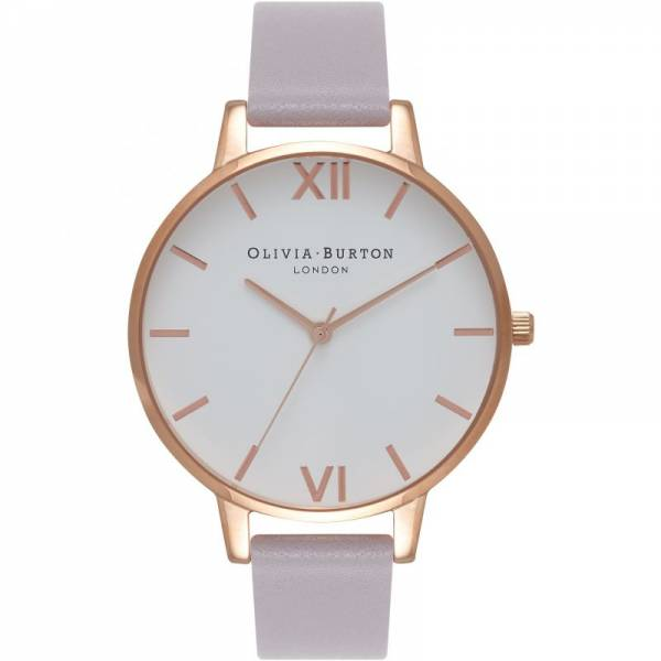 Olivia Burton Grey Lilac Watch