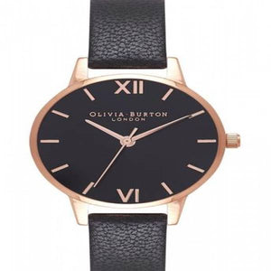 Olivia Burton Midi Black Sunray Watch