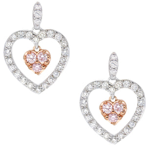 Pink Argyle Diamond earrings