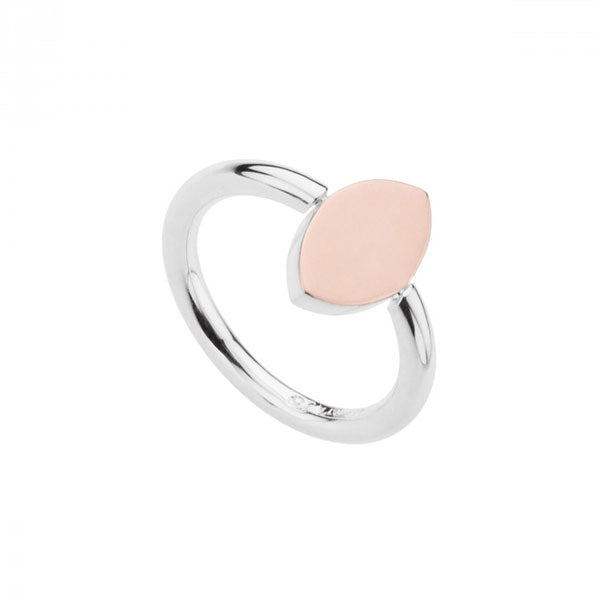 Najo Two-Tone Lozenge Ring
