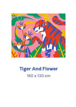 Load image into Gallery viewer, Tiger and Flower
