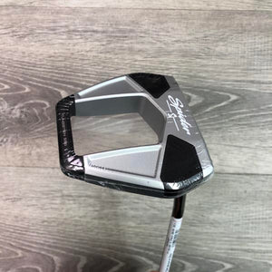 "TaylorMade Spider S Chalk 35"" Double Bend (DEMO)"