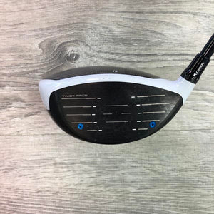 12 Degree TaylorMade SIM Max w/Atmos Red 5A (DEMO)