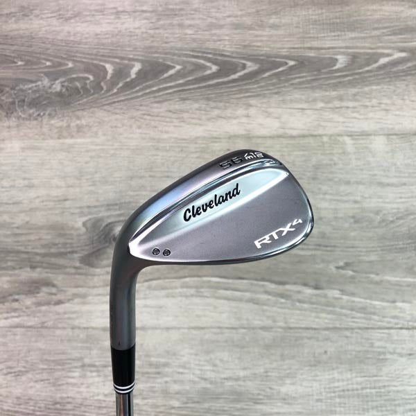 56 Degree Cleveland RTX4 10 Mid Chrome (LH) w/Project X 6.0