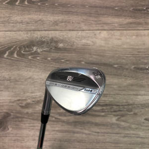 60 Degree Titleist SM8 08M Chrome (LH) w/Vokey Wedge Flex
