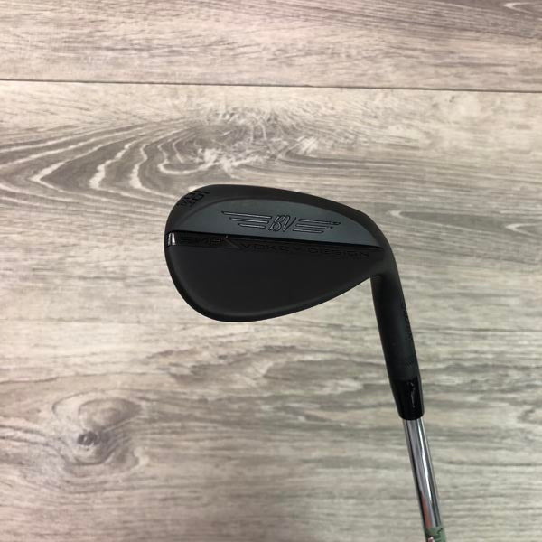 56 Degree Titleist SM8 08M Jet Black w/Vokey Wedge Flex