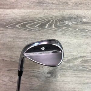 54 Degree Titleist SM8 12D Chrome (LH) w/Vokey Wedge Flex