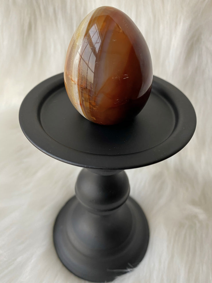 Carnelian Egg E - The Black Unicorn