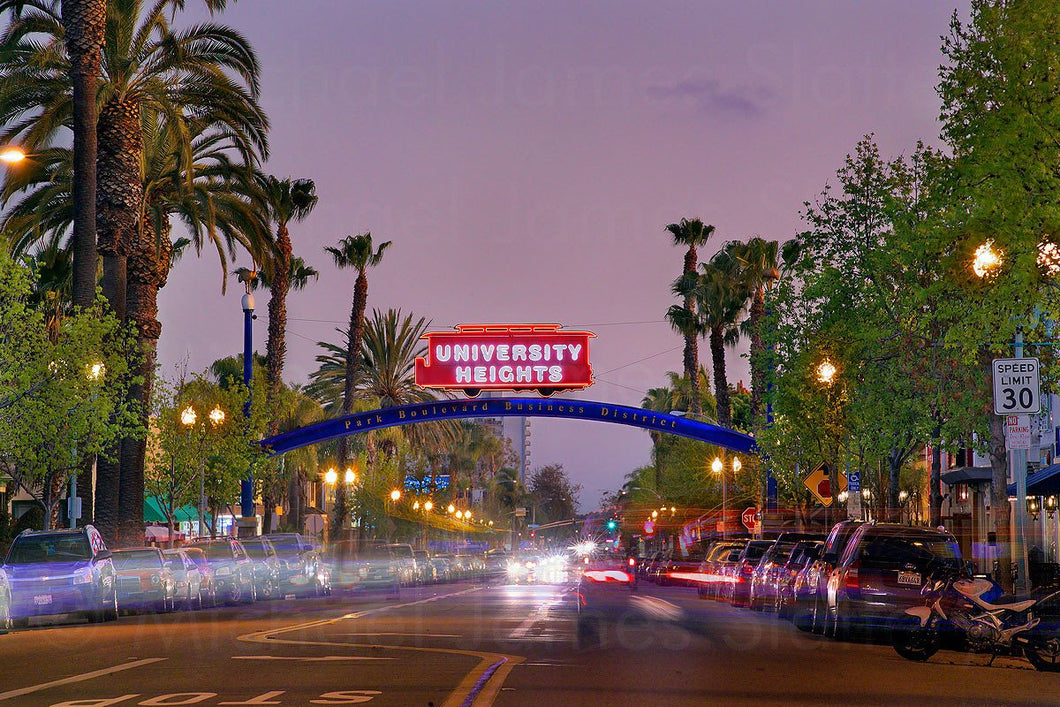university heights sign