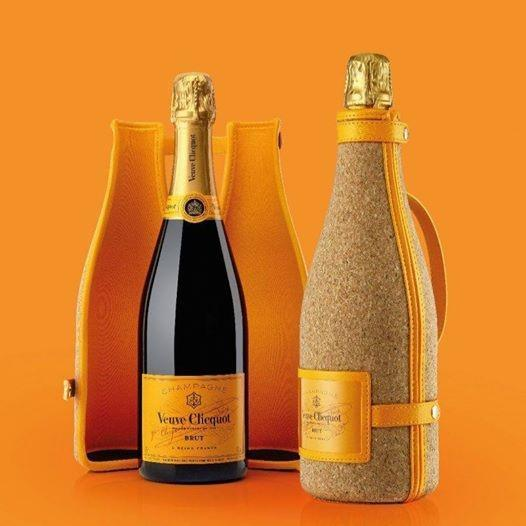 Veuve Clicquot has Corked their bottles