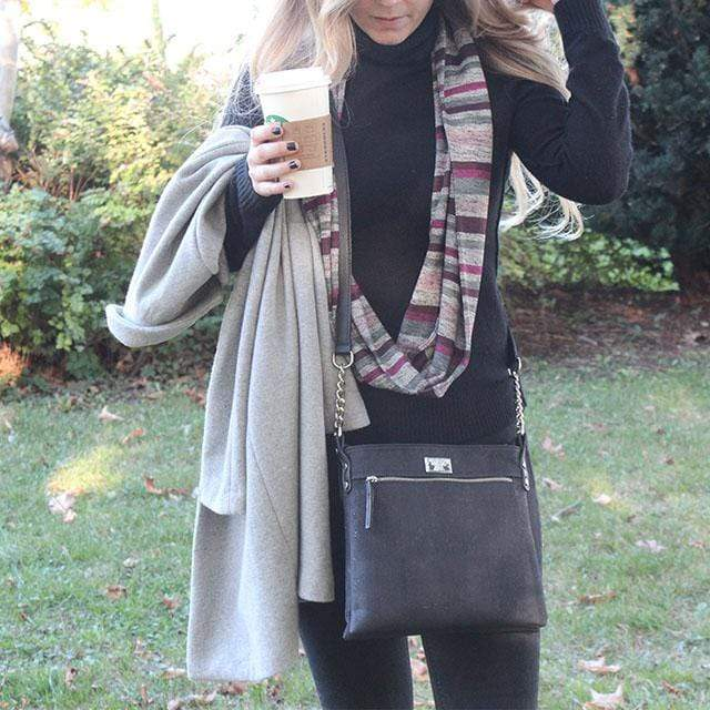 Fall's Must Have - How to Style the New Candace Cork Crossbody