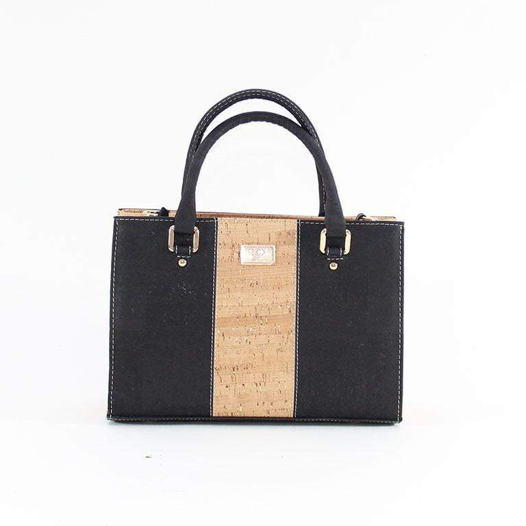 Fall's Must Have - How to Style the Carolyna Cork Leather Handbag