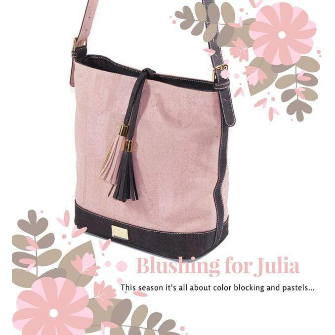 Blushing in Pink - The Julia Cork Purse
