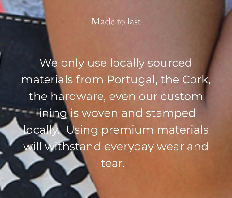 cork handbags, wallets, purses made in portugal