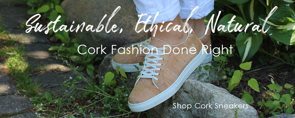 cork sneakers vegan made in portugal shoes