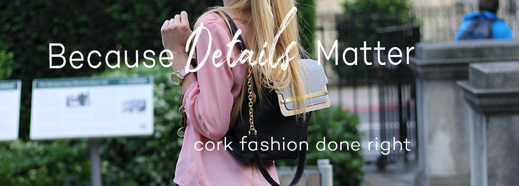 cork vegan handbags and purses from Portugal
