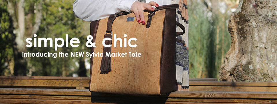 Spring new arrivals cork handbags and purses and totes