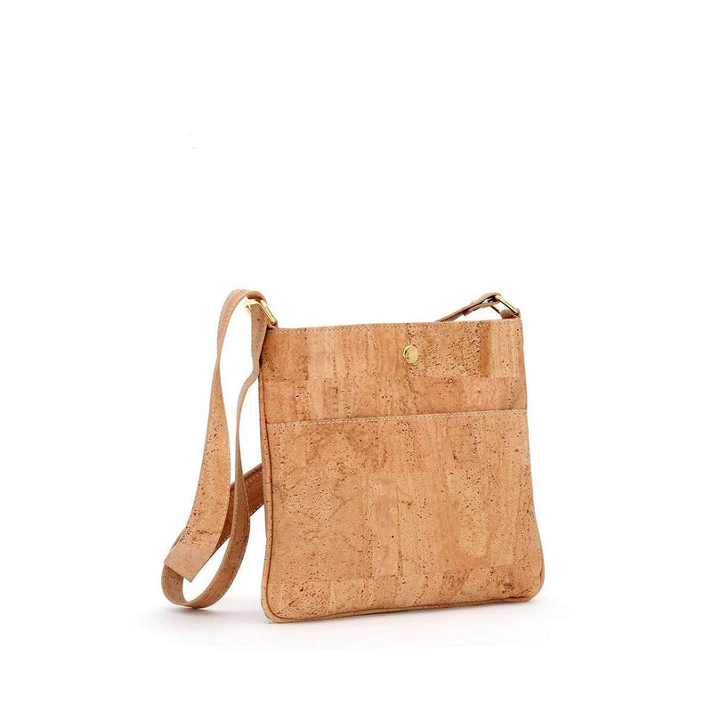 cork purse crossbody sustainable fashion vegan leather