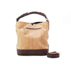 Julia Cork Hobo Purse | Natural/Brown Rok Cork
