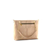 stunning cork handbag purse in white made in portugal